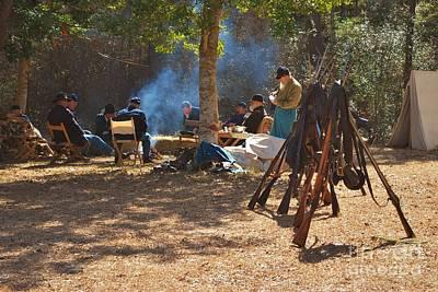 Fort Anderson Civil War Re Enactment 4 Art Print