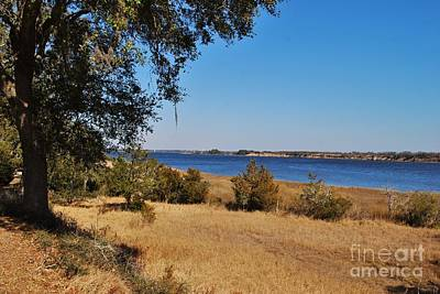 Photograph - Fort Anderson Over Looking The Cape Fear River by Jocelyn Stephenson