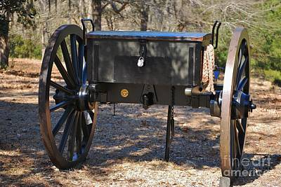 Photograph - Fort Anderson Civil War Cannon 1 by Jocelyn Stephenson
