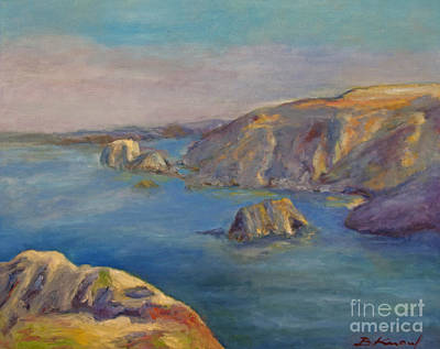 Painting - Fort Bragg Coastline by Barbara Anna Knauf