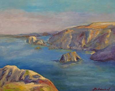 Painting - Fort Bragg Coastline by Barbara Anna Knauf