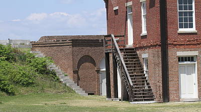 Fort Clinch 3 Art Print by Cathy Lindsey