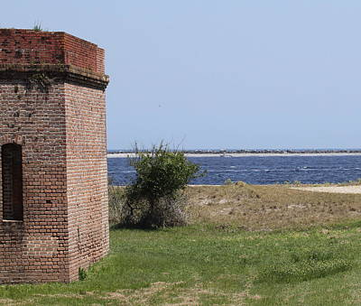 Beach Photograph - Fort Clinch by Cathy Lindsey