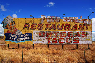 Photograph - Fort Courage Billboard No.2 by Daniel Woodrum