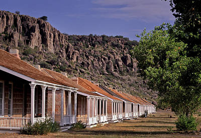Photograph - Fort Davis Officer's Quarters by David and Carol Kelly