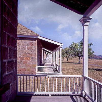 Fort Davis Perspective Art Print