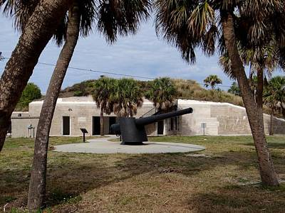 Photograph - Fort De Soto Cannon by Keith Stokes