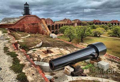 Jefferson Island Photograph - Fort Defense by Adam Jewell