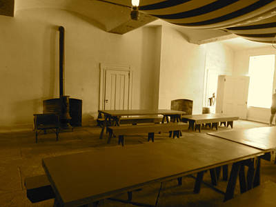 Photograph - Fort Delaware Mess Hall by Amazing Photographs AKA Christian Wilson