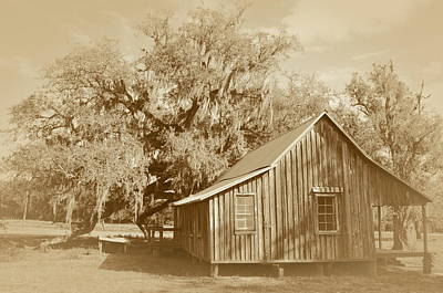 Photograph - Fort Denaud House by Ronald T Williams