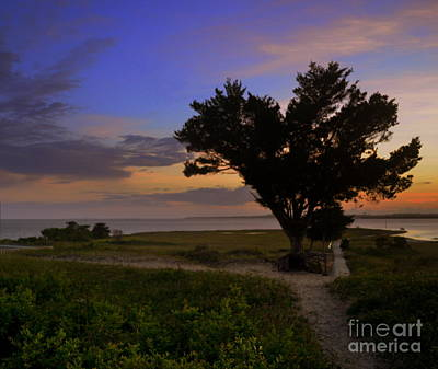 Fort Fisher Sunset  Art Print
