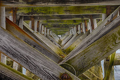 Photograph - Fort Foster Pier - Kittery - Maine by Steven Ralser