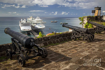 Photograph - Fort Georges - Grenada by Brian Jannsen