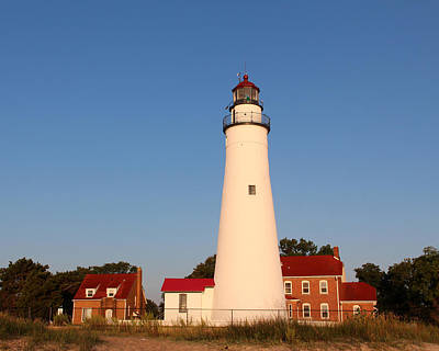 Photograph - Fort Gratiot Lighthouse 1 by George Jones