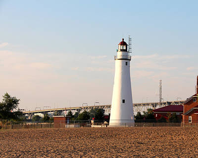 Photograph - Fort Gratiot Lighthouse 2 by George Jones