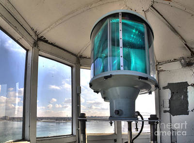 Michigan Port Huron Photograph - Fort Gratiot Lighthouse Lantern Room by Twenty Two North Photography