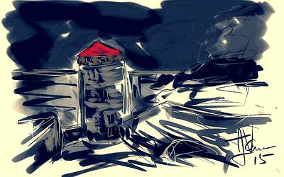 Digital Art - Fort Henry Vista by Jim Vance