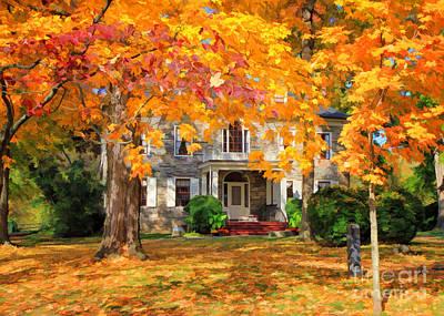 Fort Hunter Autumn Art Print