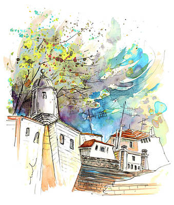 Portugal Art Painting - Fort In Valenca Portugal 01 by Miki De Goodaboom