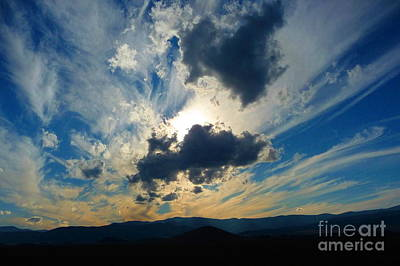 Horizon Photograph - Fort Jones Sunset 1 by Joshua Greeson