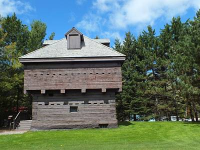 Photograph - Fort Kent History by Gene Cyr