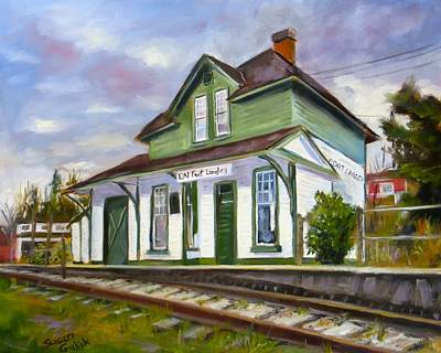 Fort Langley Train Station Original