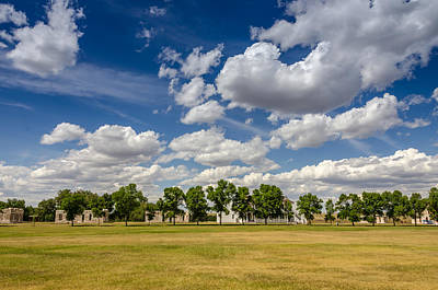 Photograph - Fort Laramie Parade Ground by Debra Martz