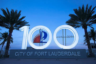 Photograph - Fort Lauderdale 100 by David Smith