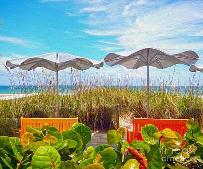 Fort Lauderdale Beach Art Print by Mary Ann Tardif