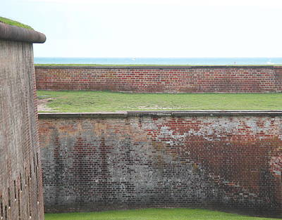 Fort Macon 13 Art Print by Cathy Lindsey
