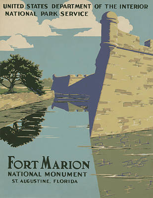 Fort Marion Art Print by American Classic Art