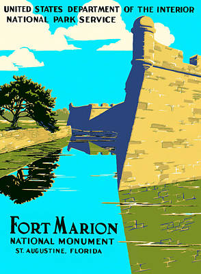 Photograph - Fort Marion - Castillo De San Marcos by Mark E Tisdale