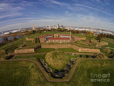 Photograph - Fort Mchenry Baltimore Maryland by Tony Cooper