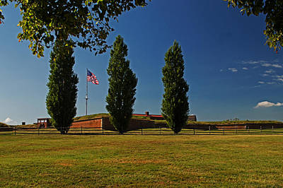 Photograph - Fort Mchenry Exterior by Bill Swartwout Fine Art Photography