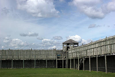 Photograph - Fort Michilimackinac Guard Tower 2 by Mary Bedy