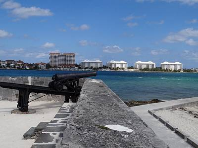 Photograph - Fort Montagu Nassau Bahamas by Keith Stokes