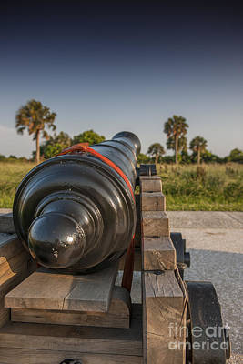 Photograph - Fort Moultrie Cannon by Dale Powell