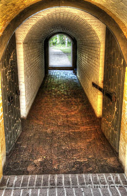 Photograph - Fort Moultrie Entrance by Dale Powell