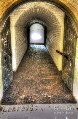Photograph - Fort Moultrie Tunnel by Dale Powell