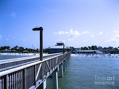 Photograph - Fort Myers Beach by Oksana Semenchenko