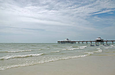 Photograph - Fort Myers Pier by Aimee L Maher Photography and Art Visit ALMGallerydotcom