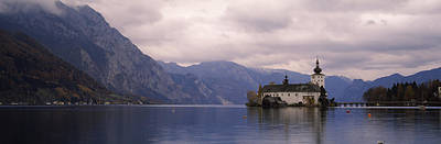 Fort On An Island In A Lake, Schloss Art Print by Panoramic Images