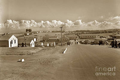 Photograph - Fort Ord Army Base Monterey California Circa 1948 by California Views Archives Mr Pat Hathaway Archives