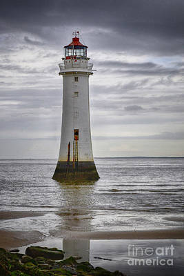 Fort Perch Lighthouse Art Print by Spikey Mouse Photography