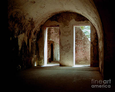 Photograph - Fort Pickens Doorways by Tom Brickhouse