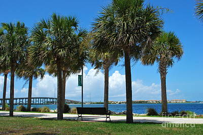 Photograph - Fort Pierce River Front by Bob Sample