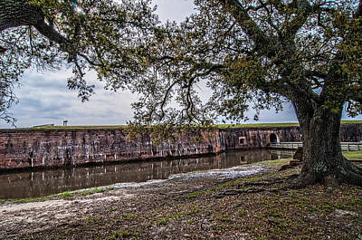 Photograph - Fort Pike Approach by Andy Crawford