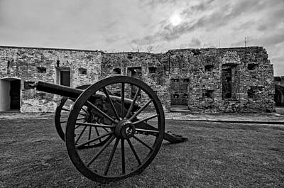 Fort Pike Cannon Art Print by Andy Crawford