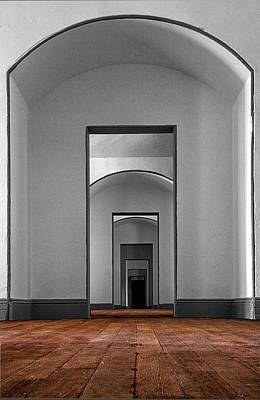 Photograph - Fort Point Doorways by Robert Woodward