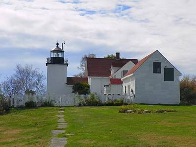 Photograph - Fort Point Light by Gene Cyr